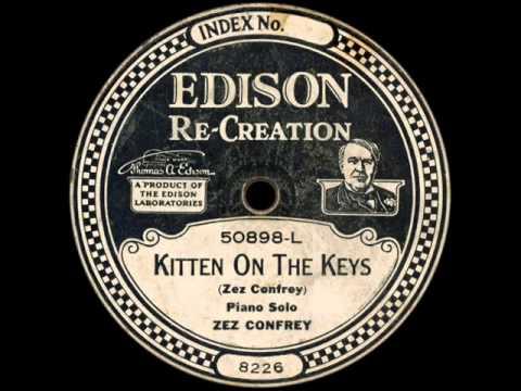 Zez Confrey piano solo: Kitten On The Keys 1921