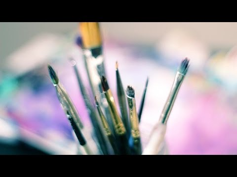 How to Clean Oil Paint Brushes