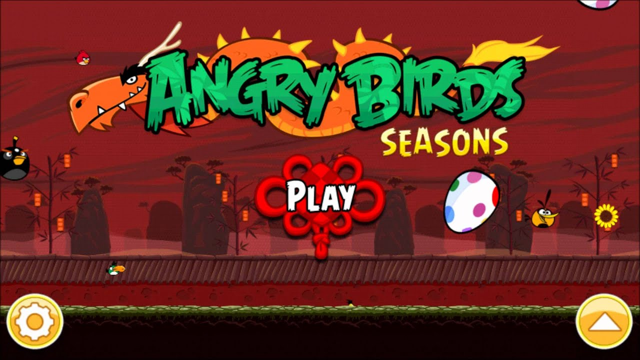 Year Of The Dragon Angry Birds Seasons Music Youtube