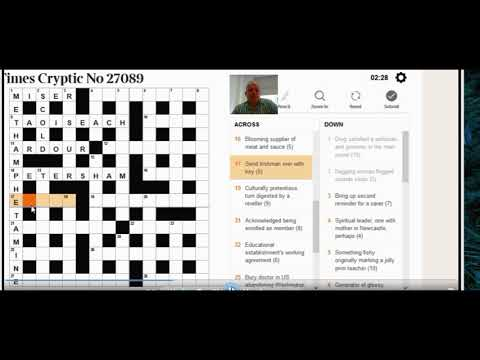 Times Crossword 27,089