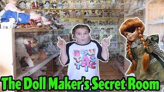 We Found The Doll Makers Secret Room! Escaping The Doll Maker