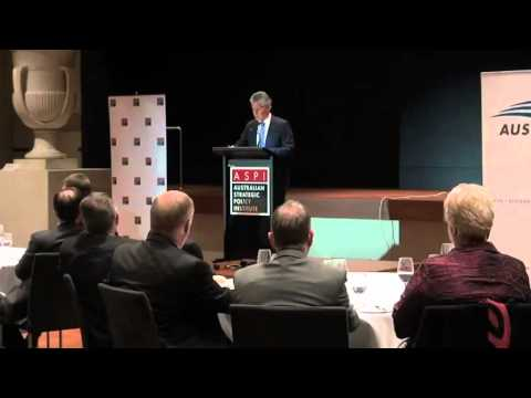 Stephen Smith, Minister for Defence - Australia's changing strategic circumstances
