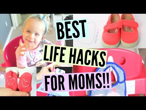 MOM HACKS | Best Time Saving Tips for Busy Moms!!