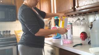 Homemade Laundry Powder Detergent