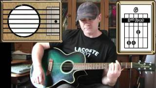 She Moves In Her Own Way - The Kooks - Acoustic Guitar Lesson