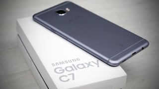 Samsung Galaxy C7 - Unboxing & Hands On!