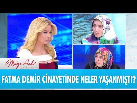 Fatma Demir cinayetinde neler yaşandı?(2) - Müge Anlı ile Tatlı Sert 1 Haziran 2017 – atv