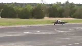 Top Flite Giant P-47 Maiden Flight