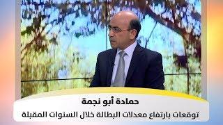 حمادة أبو نجمة - توقعات بارتفاع معدلات البطالة خلال السنوات المقبلة