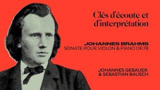 Harping like Angels _ Brahms Sonata J.Gebauer & S.Bausch
