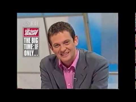 Carlo Little on The Wright Stuff, 2002