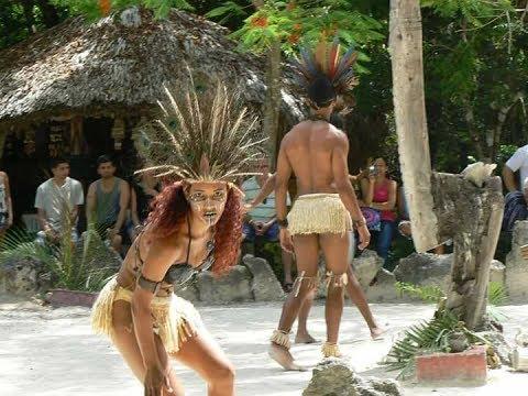 Baile del Pueblo Taino