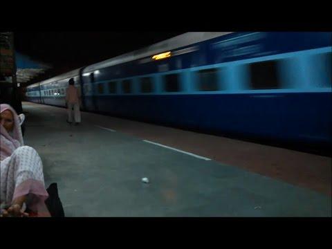 Allahabad Jaipur SF Crossing Shram Shakti Express