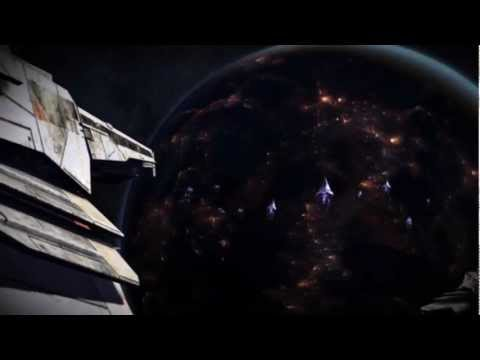Mass Effect 3 - Approaching Menae (Palaven's moon)