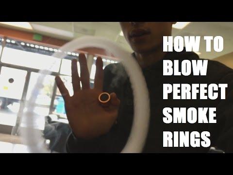 HOW TO PUSH AND BLOW SMOKE RINGS (IN DEPTH)