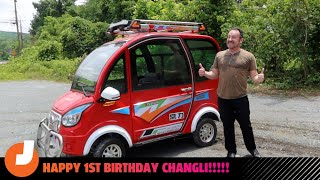 homepage tile video photo for How The Cheapest Electric Car In The World Held Up After 1 Year