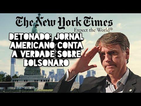 DETONADO: JORNAL AMERICANO CONTA A VERDADE SOBRE BOLSONARO