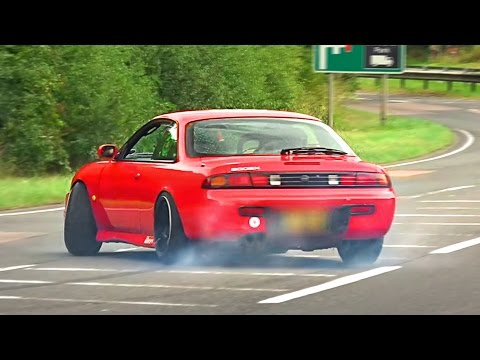 BEST-OF Nissan Silvia Sound Compilation 2016!