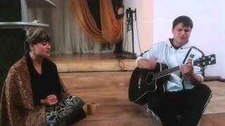 Посольство Божье г.Кассель песня Святы Небеса в исполнение Евгении и Артёма.
