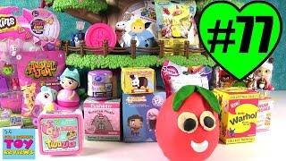 Blind Bag Treehouse #77 Unboxing | Shopkins Num Noms Disney Twozies | PSToyReviews