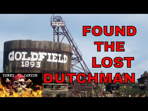 Gold Field Ghost Town - The Lost Dutchman Mine - Documented Riches!!!