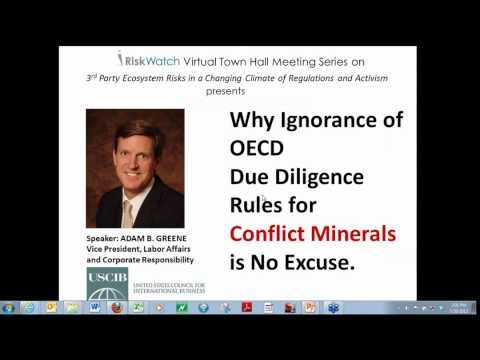 Why Ignorance of OECD Due Diligence Rules for Conflict Minerals is No Excuse