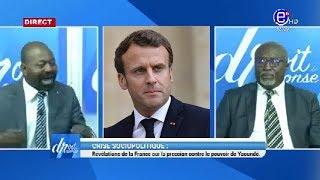 DROIT DE RÉPONSE DU 23/02/2020 (Révélations de MACRON sur la pression contre le pouvoir de Yaoundé.)