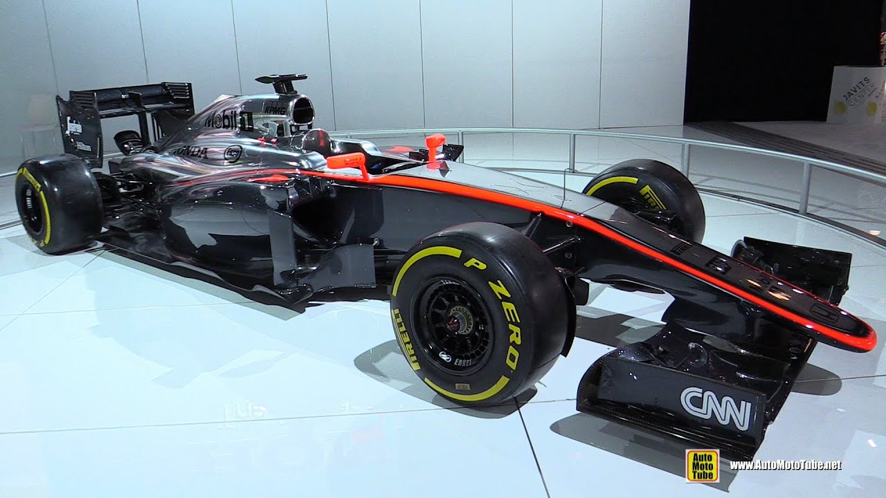 McLaren Honda F Jenson Button Race Car Replica Walkaround - F1 show car