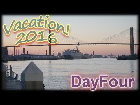 Our Vacation 2016: Savannah Downtown!