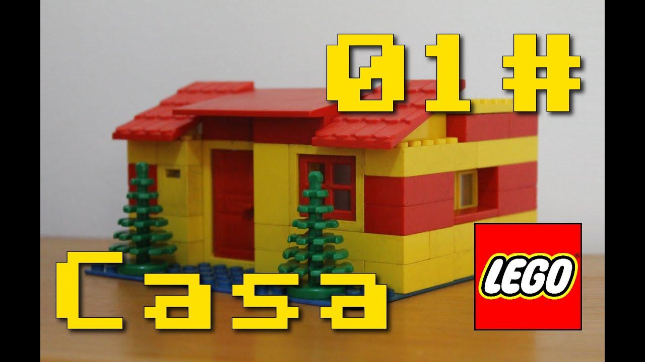 Montar lego casa de lego 01 brinquedo lego brasil - Casa facil picassent ...