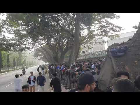 Offline Tickets Crowd At Chinnaswamy Stadium For G Stand For India Vs Austrlia 19th Jan 2020 Match