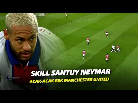 """Balas Dendam Yang Sukses"" Lihatlah Skill Neymar Jr Usai Mempermalukan Para Pemain Manchester United"