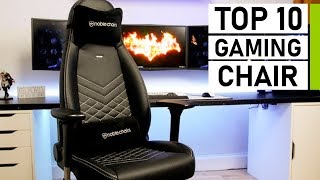 Top 10 Most Comfortable Gaming Chairs