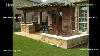 Gambar cover Backyard kitchen design ideas | Interior Design with Home Decor & Modern House Inspiration Pic