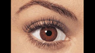 Change your eye color to brown with hypnosis