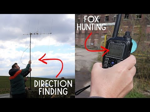 Amateur Radio Fox Hunting - With Rochdale Radio Society!