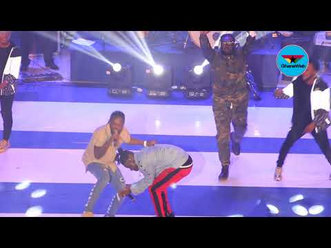 Stonebwoy performs with 'godfather' Samini at 2017 BHIM Concert