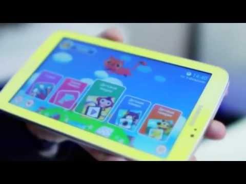 Детский планшет Samsung Galaxy Tab 3 Kids (Обзор)