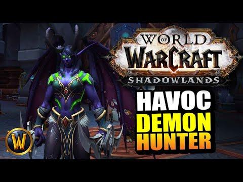 Havoc Demon Hunter On The Shadowlands Beta // World Of Warcraft