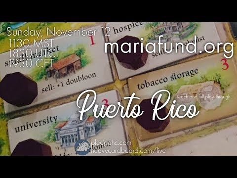Puerto Rico 5p Play-through, Teaching, & Roundtable discussion by Heavy Cardboard