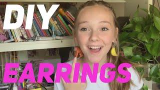 How I Make My Earrings!  Sophie Grace