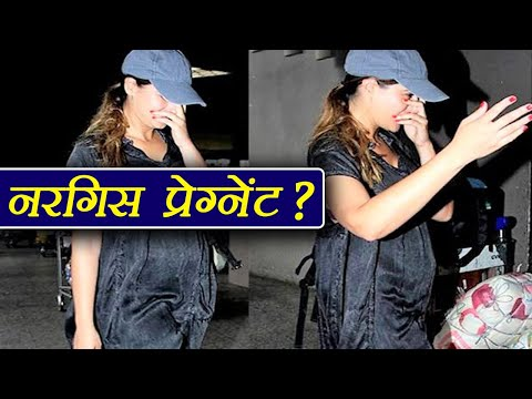 Nargis Fakhri PREGNANT ? Photos ing BABY BUMP goes VIRAL  FilmiBeat