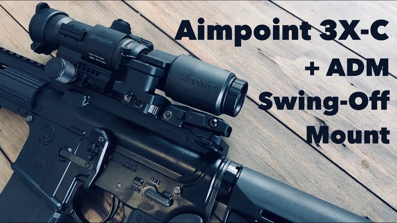 unbox aimpoint 3x c