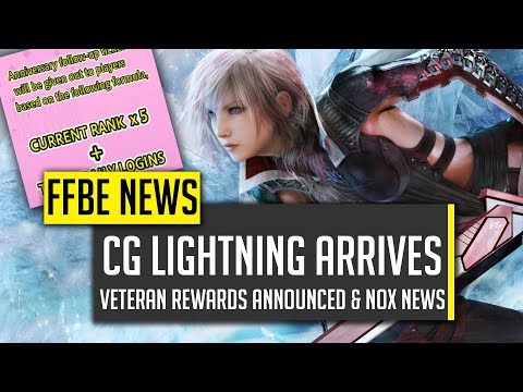 CG Lightning MUST HAVE TMR! Veteran Anniversary Rewards! – [FFBE