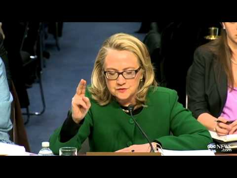 Hillary Clinton's Fiery Moment at Benghazi Hearing