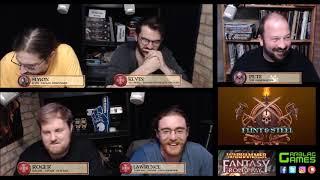 Flint & Steel S02E01 - Warhammer Fantasy Roleplay 4e - Fimir!