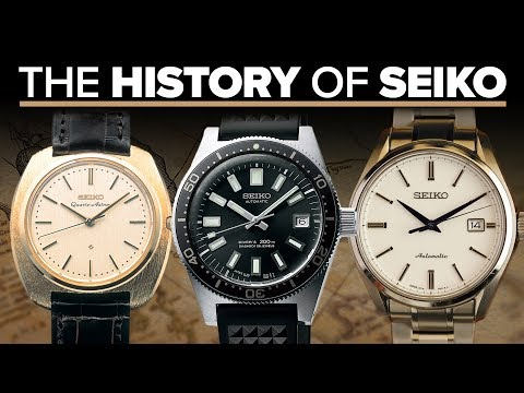 The History Of Seiko Watches | A Look At Their Most Iconic Watches (2019)