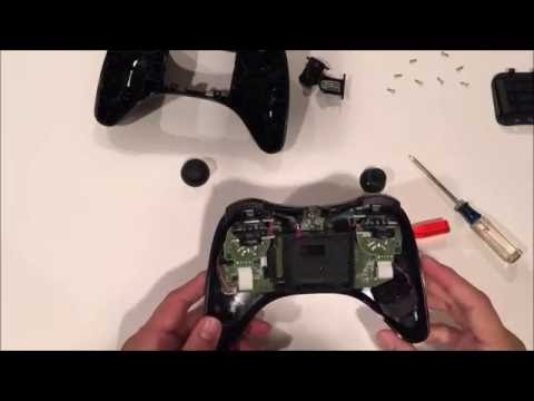 GUIDE Opening a Wii U Pro Controller and Swapping the Control