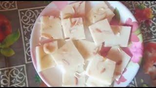 Agar Agar pudding recipe