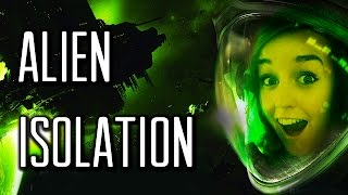 MY SCREAM BROKE THE MICROPHONE! - Alien Isolation - Survival Mode